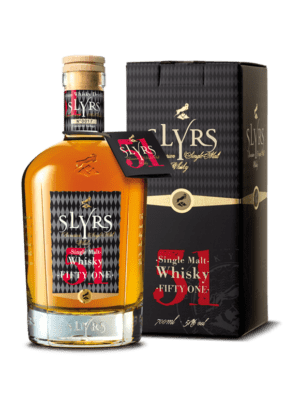 SLYRS Single Malt Whisky Fifty-One 51% vol. 700ml