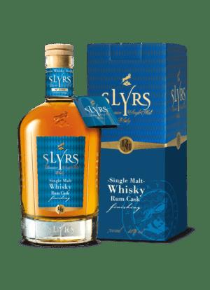 SLYRS Whisky Rum 46% 700ml mit Verpackung
