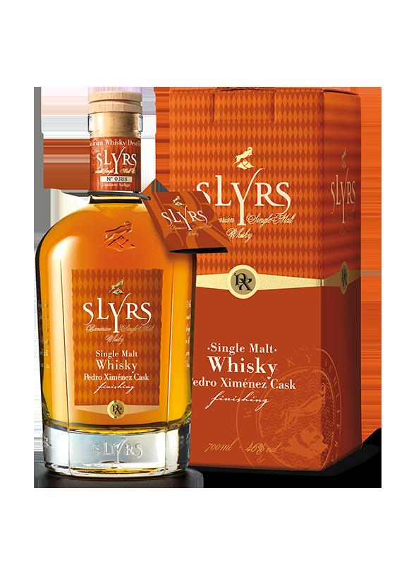 SLYRS Whisky Pedro Ximénez 46% 700ml mit Verpackung