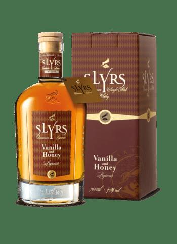 SLYRS Vanilla & Honey Liqueur 30% vol. 700ml mit Verpackung