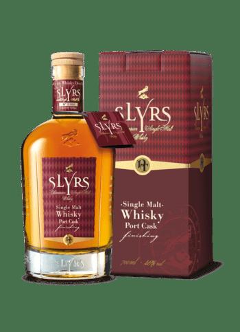SLYRS Whisky Portwein 46% 700ml mit Verpackung