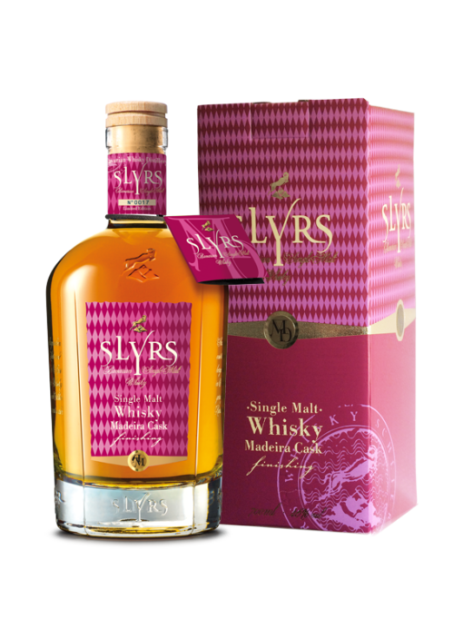 SLYRS Whisky Madeira 46% 700ml mit Verpackung