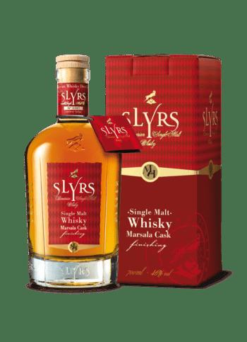 SLYRS Whisky Marsala 46% 700ml Verpackung