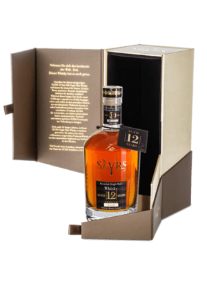 SLYRS Single Malt Whisky Aged 12 Years 43% vol. 0,7 l in der Premiumverpackung