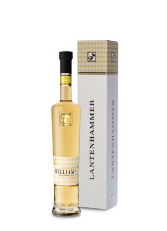 Lantenhammer Williamsbirnenbrand 42% vol. 0,5 l im SLYRS Whiskyfass gereift