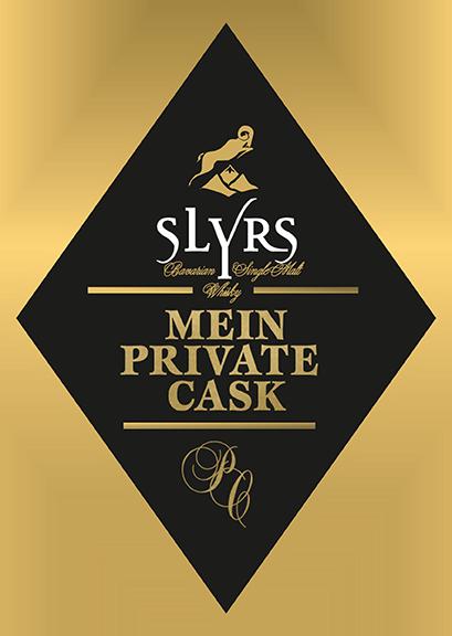 SLYRS Mein Privat Cask Emblem
