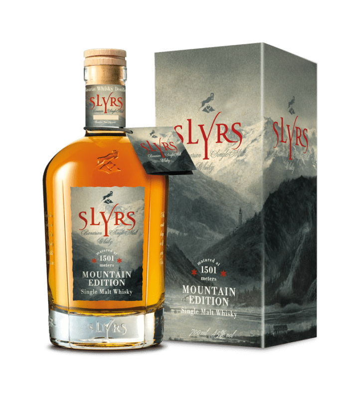 SLYRS Mountain Edition 700ml Package