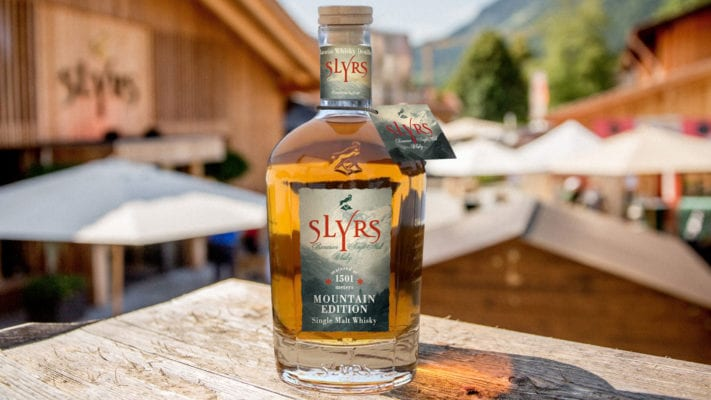 SLYRS Single Malt Whisky Mountain Edition