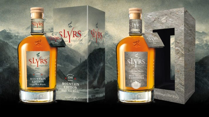 SLYRS Destillerie Single Malt Whisky Stuempfling Mountain Edition