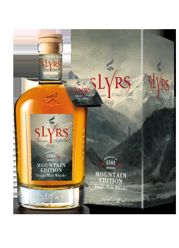 SLYRS Mountain Edition gereift auf 1501 Metern